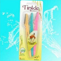 Wholesale 3x Pro Tinkle Eyebrow Razor Trimmer Shaper Shaver New