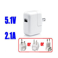 Wholesale F02642 EU W A Wall Charger Plug Dual USB Power Adapter For IPad IPod IPhone GS G Europe