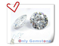 Wholesale advanced AAAAA Cubic Zirconia stone Round mm Earrings parts CZ stones BY CZ