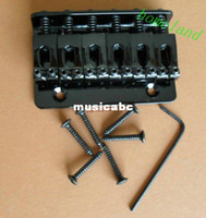 Wholesale Best shipping New black Tele Bridge for electric guitar