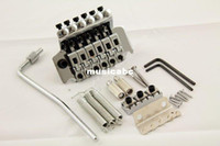 Wholesale High Quanlity Tremolo Bridge Double Lock System Chrome Fit For Electronic Guitar