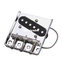 Wholesale Chrome Saddle Ashtray Bridge W Pickup For Telecaster