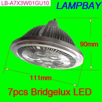 Wholesale Bridgelux W GU10 non dimmable led AR111 equal to W spotlight W QR111