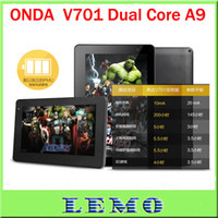 Wholesale Hot ONDA V701 Tablet PC with Multi Touch Dual Core GHz Android GB Tablet PC D HDMI Wifi