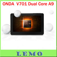 Wholesale Super ONDA V701 Tablet PC with Scree Dual Core GHz Android GB Tablet PC D HDMI Wifi