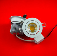 Wholesale COB W Warm White Pure White Cool White led down light led ceiling light AC85 V