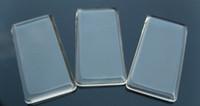 Unisex glass pendant - Rectangle Glass Tile For Pendant Jewelry Making Glass Tile Pendant Necklace Glass Necklace Tiles