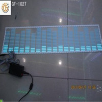 Wholesale 80 cm LED Strip Car music lights sound control activated equalizer sensor light decoration lamp