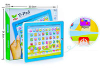 Wholesale Y pad Table Learning Machine English Computer for Kids Children Educational Toys Music