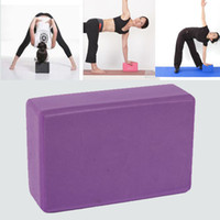 Wholesale 20 Yoga Block brick Foaming Foam Home Exercise practice Fitness Tool Sport