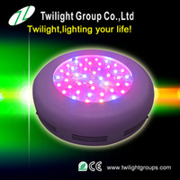 Wholesale 90w build led grow lights best for medical herb round shape white cover year warranty w ufo led