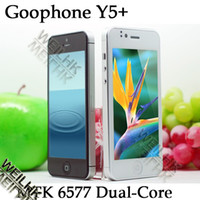 Wholesale Dual core MTK goophone Y5 android G smartphone with capacitive screen GB