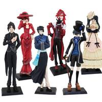 Wholesale 2 Set Popular Kuroshitsuji Sebastian Grell Lau Figure Set of Style