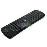 Wholesale 2 G GHz Wireless Mouse Keyboard Fly Air Mouse RC11 For Android TV BOX Mini PC Google TV Player