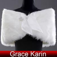 5pcs lot GK Faux Fur Cape Shawl Wedding Accessories Bridal W...