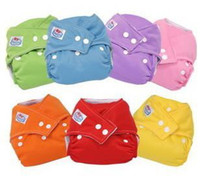Wholesale Reusable Washable Baby Cloth babyland Nappies Nappy Diapers Inserts Liners do not contain