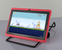 Wholesale inch android Capacitive Screen M GB Camera WIFI allwinner A13 tablet pc