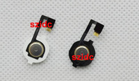 Wholesale 100pcs Home Button Flex Cable With Key Cap assembly for iPhone G Replacement Parts