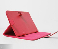 Wholesale universal compatible leather case cover with stand holder for Tablet PC MID universal case