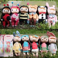 achat en gros de plush rabbit toy-Angela Peluches metoo Lapin en peluche Poupées Jouets de Nice Boîtes Cadeaux de Noël Enfants