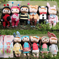 Wholesale Angela Plush Toys Metoo Stuffed Rabbit Dolls Toys Nice Boxes Kids Christmas Gifts