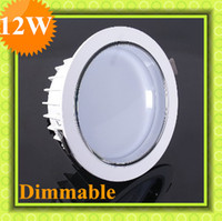 Wholesale 12W Dimmable Led Downlights LM Fixture Down light Recessed lamp Warm White Ceiling Light
