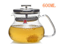 Wholesale China Brand Glass Teapot Coffee Cup ML Easy Use For Make Tea And Coffee With Stainless Stain Cove