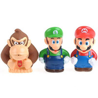 Wholesale Toys for Child Toys Desk Ideas Piece Cute Super Mario Bros Series Small Figure Collection Toy Set