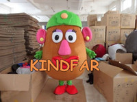 Angel animal head fancy dress - Mrs Potato Head Mascot Costume Toy Story Outfit EPE Fancy Dress Cartoon Outfit Suit