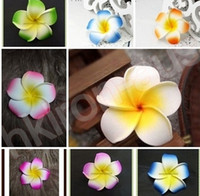 Wholesale Mix Plumeria Hawaiian Foam Frangipani Flower Bloom Wedding Party Decoration