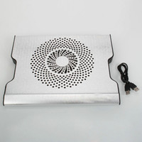 Wholesale T3 USB Laptop Cooling Pad Notebook Cooler New Silver