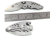 Wholesale New Folding Gift Pocket Hunting Knife With Clip Silver Tools EDC KSA
