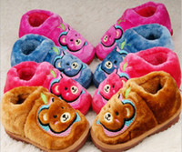 Wholesale for children winter Slippers gilr slippers cotton shoes kids shoes fashion shoes pairs