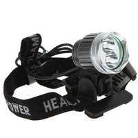 Wholesale Gray LED Bicycle Light Headlight HeadLamp for Camping Cree XM L T6 XR E R5