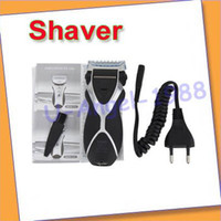 Wholesale NEW Rechargeable Electric Shaver Double Edge Men Razor V EU Plug