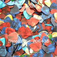Wholesale special thickness mixed guitar picks celluloid paddle the