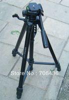 Professional Tripod aluminum association - association Jie Tripod TR573 SLR the DV camera tripod classic black portable package