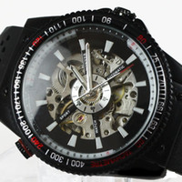 Wholesale HOT Automatic Luxury Steel Skeleton stylish watches men men s Mechanical watch