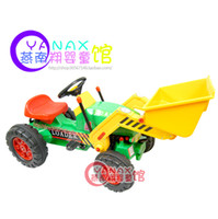 Wholesale Foot baby child big truck forkfuls excavator fitness ride car toy excavator