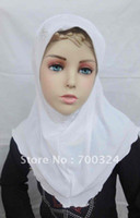 Beige beautiful hijab girls - H414 beautiful small girl hijab fast delivery assorted colors