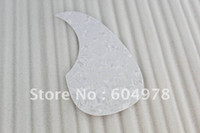 Wholesale Top Quality Acoustic guitar pickguard plastic printed White Pearl High Quality And Inexpensive