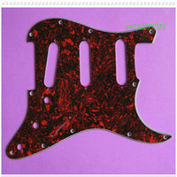 Wholesale Factory price high quality new S red tortoise shell Pickguard for STRAT guitar