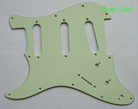 Wholesale New Factory price Right hand high quality new S mint green Pickguard for STRAT guitar