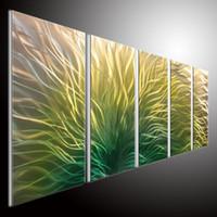 Wholesale oil paintings abstact art wall wall art metal sculpture art wall A handmade