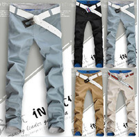 Men mens cargo pants - Men Trousers Leisure And Casual Pants With Korean Style Mens Kahki Pants Casual Fashion