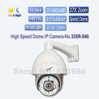 Wholesale IPS R Outdoor TVL H mm Zoom PTZ IR High Speed Dome Ip Camera with way Audio
