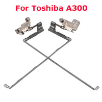Wholesale Laptop Hinges For Toshiba A300 Silver High Quality pairs