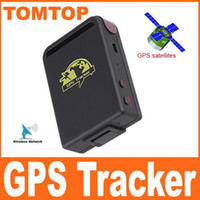Wholesale Mini Global GPS Tracker Real Time GSM GPRS Tracking TK for Car Old People Children Pets H4149