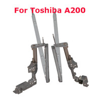 Wholesale Replacement LCD Hinges For Toshiba A200 Laptop New Silver Pairs