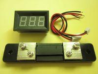 Wholesale Blue A Optional Digital DC AMP Panel Meter Ammeter Shunt
